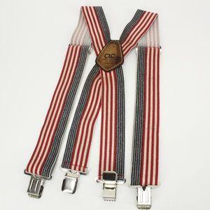 Vintage American Flag Suspenders